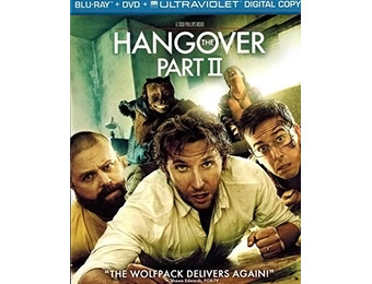 56% off The Hangover Part II (Blu-ray + DVD + Ultraviolet)