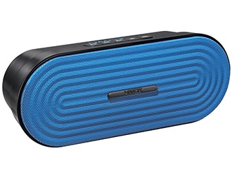 40% off HDMX Rave Bluetooth Wireless Speaker (blue, pink, grey)