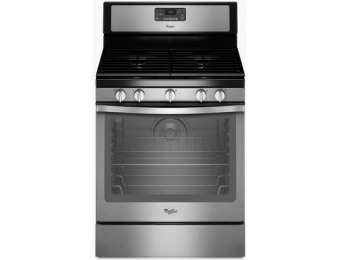 $400 off Whirlpool 5-Burner Convection Gas Range