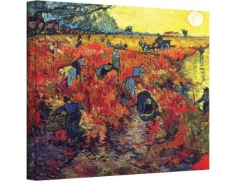 82% off Vincent Vangogh's Red Vinyard At Aries Gallery Canvas