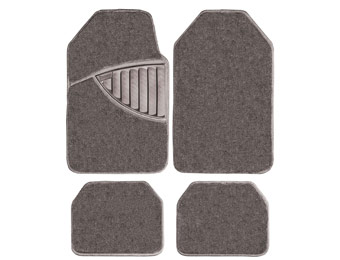 70% off WeatherHandler Deluxe 4pc Carpet Car Floor Mat Set