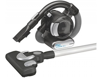 $59 off Black+Decker MAX Lithium Flex Vacuum w/ Pet Hair Brush