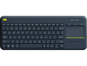 55% off Logitech K400 Plus Wireless Keyboard for Win, Android, Chrome