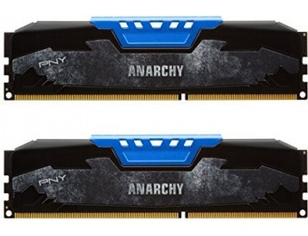 30% off PNY Anarchy 8GB (2x4GB) DDR3 2133MHz CL10 Memory