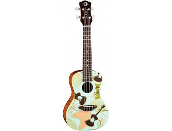 78% off Luna Guitars Daddy-O Concert Ukulele