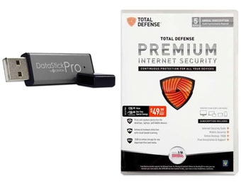 Free after $60 Rebate: Centon 16GB USB & Total Defense Security