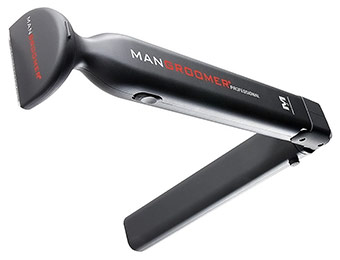 $25 off ManGroomer Professional DIY Electric Back Hair Shaver
