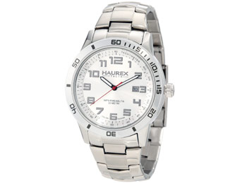 $416 off Haurex Italy 7A355USS Stainless-Steel Men's Watch