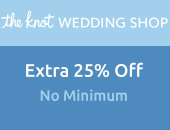 Extra 25% off w/ The Knot promotional code: FREE25