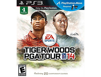 33% off Tiger Woods PGA TOUR 14 (Playstation 3)