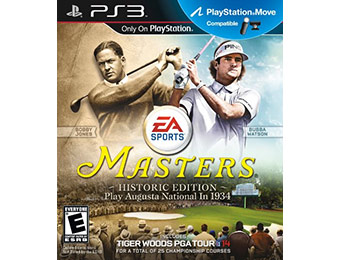 $20 off Tiger Woods PGA TOUR 14: Masters Historic Edition PS3