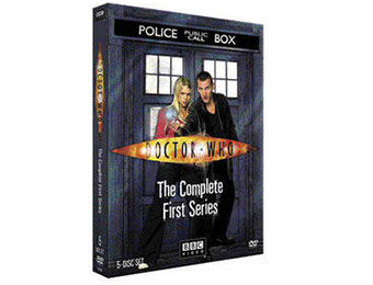 75% off Doctor Who: Complete First Series on DVD