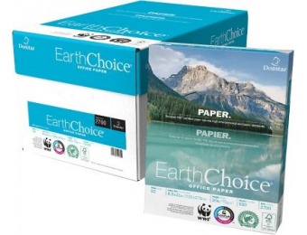 "73% off Domtar EarthChoice Office Paper, 8 1/2"""" x 11"""", Case"