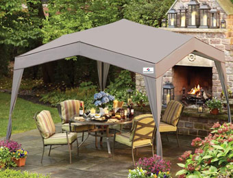 $50 off Sportcraft Courtyard Deluxe 10' x 10' Canopy