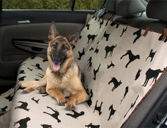 68% off Pet Store Waterproof Pet Car Seat Covers, Two Styles