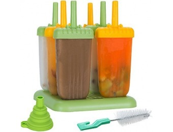 41% off Lebice Popsicle Molds, BPA Free, High Quality (Set of 6)