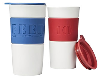 20% off FEED for Target Travel Mug (blue or red)