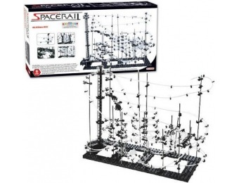77% off Spacewrap Spacerail Level 8 Steel Marble 120' Roller Coaster