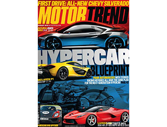 92% off Motor Trend Magazine 1 Yr Subscription, coupon code: 8117