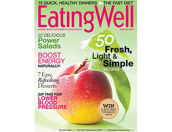 87% off EatingWell Magazine 1 Yr Subscription, coupon code: 8769