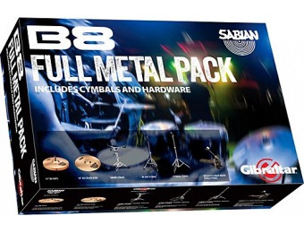 70% off Sabian Full Metal Cymbal And Hardware Pack
