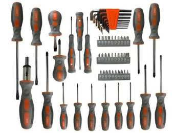 65-Piece HDX Screwdriver Set