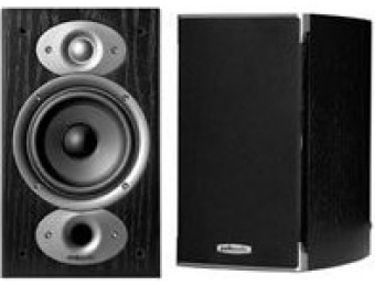 $130 off Polk Audio RTI A1 Bookshelf Speakers (Pair, Black)