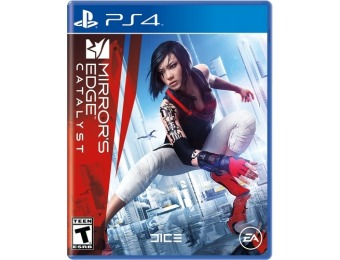 75% off Mirror's Edge Catalyst - Playstation 4