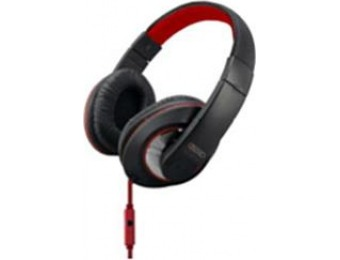 44% off Sentry Deep Bass Red Stereo Headphones with mic