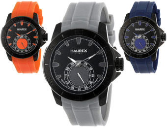 $205 off Haurex Italy Acros Men's Watches, Six Colors Available