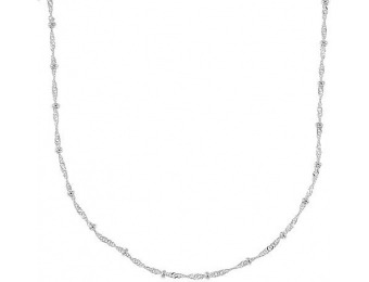 99% off Sterling Silver Singapore Necklace