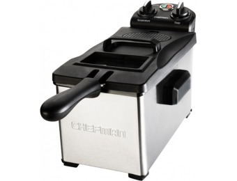 50% off Chefman 3 Liter Deep Fryer - Stainless Steel