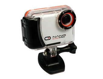 NanoCam Pro HD Action Camera Sport Kit w/ Memory Card