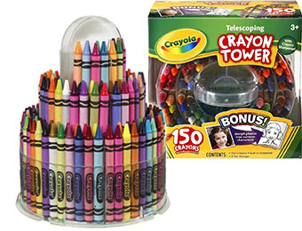 45% off Crayola Telescoping Tower 150-Count Crayons