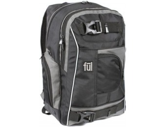 "53% off Ful Apex 18"" Backpack w/ Side-Entry Laptop Compartment"