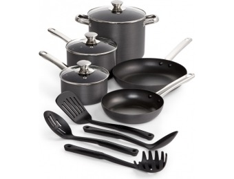 79% off Hard-Anodized 12-Piece Nonstick Cookware Set