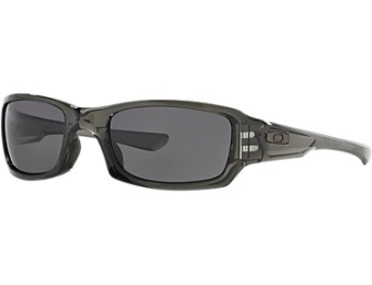 $80 off Oakley Oo9238 Fives Squared Grey Wrap Sunglasses