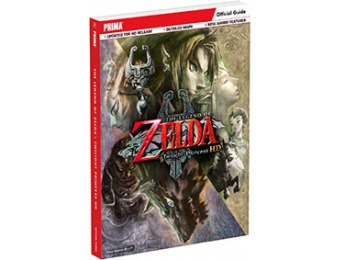 50% off The Legend of Zelda Twilight Princess HD Strategy Guide