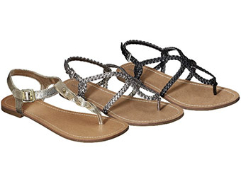 Buy 1 Get 1 Free Merona Emily Gladiator Sandals Collection