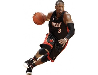 77% off Dwyane Wade Drives Fathead