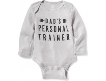 60% off Old Navy Graphic Bodysuit For Baby