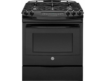 84% off GE Appliances JGS750DEFBB Slide-In Gas Range
