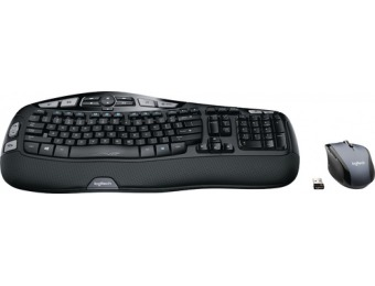 50% off Logitech MK570 Comfort Wave Wireless Keyboard and Mouse