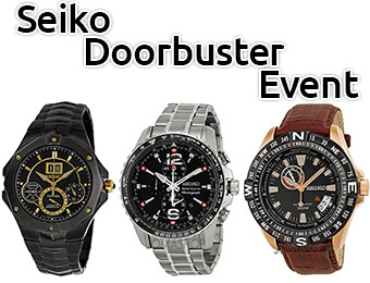 Up to 82% off Seiko Watches