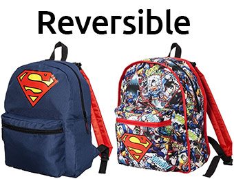 67% off Superman Reversible Backpack