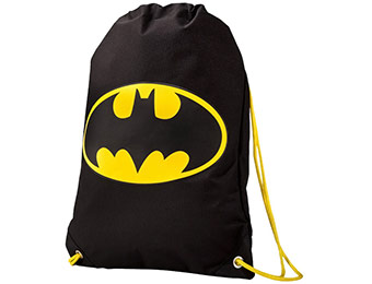 60% off Batman Black Sack Bag (laundry bag or gym bag)
