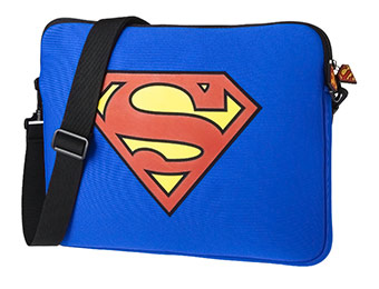 61% off Superman Laptop Messenger Bag