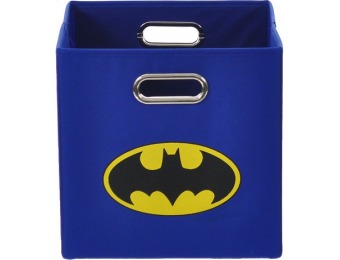 45% off Modern Littles Batman Logo Blue Folding Storage Bin