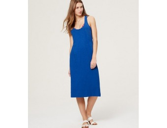 58% off LOFT Beach Cross Back Jersey Dress