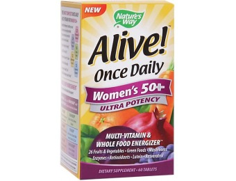54% off Alive Once Daily Womens 50+ Ultra potency